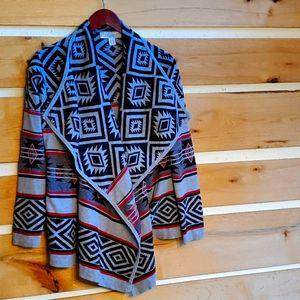 By Design sz XL Aztec Design Jacket